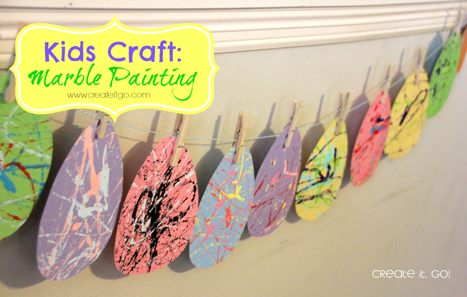 Crafts for one year olds -  Of An Easy Kids Craft To Make The Younger Ones A Little More Happy Didn T Really Do It For The 15 Year Old But He S One Of The Sickies Anyway