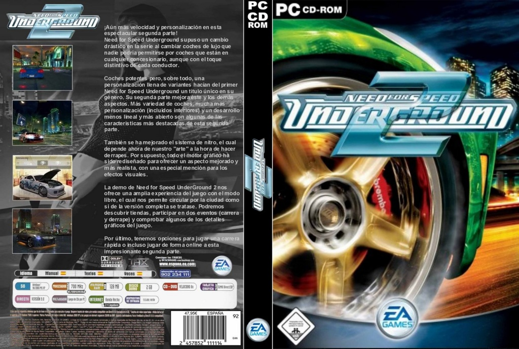 descargar need for speed underground 2 pc gratis