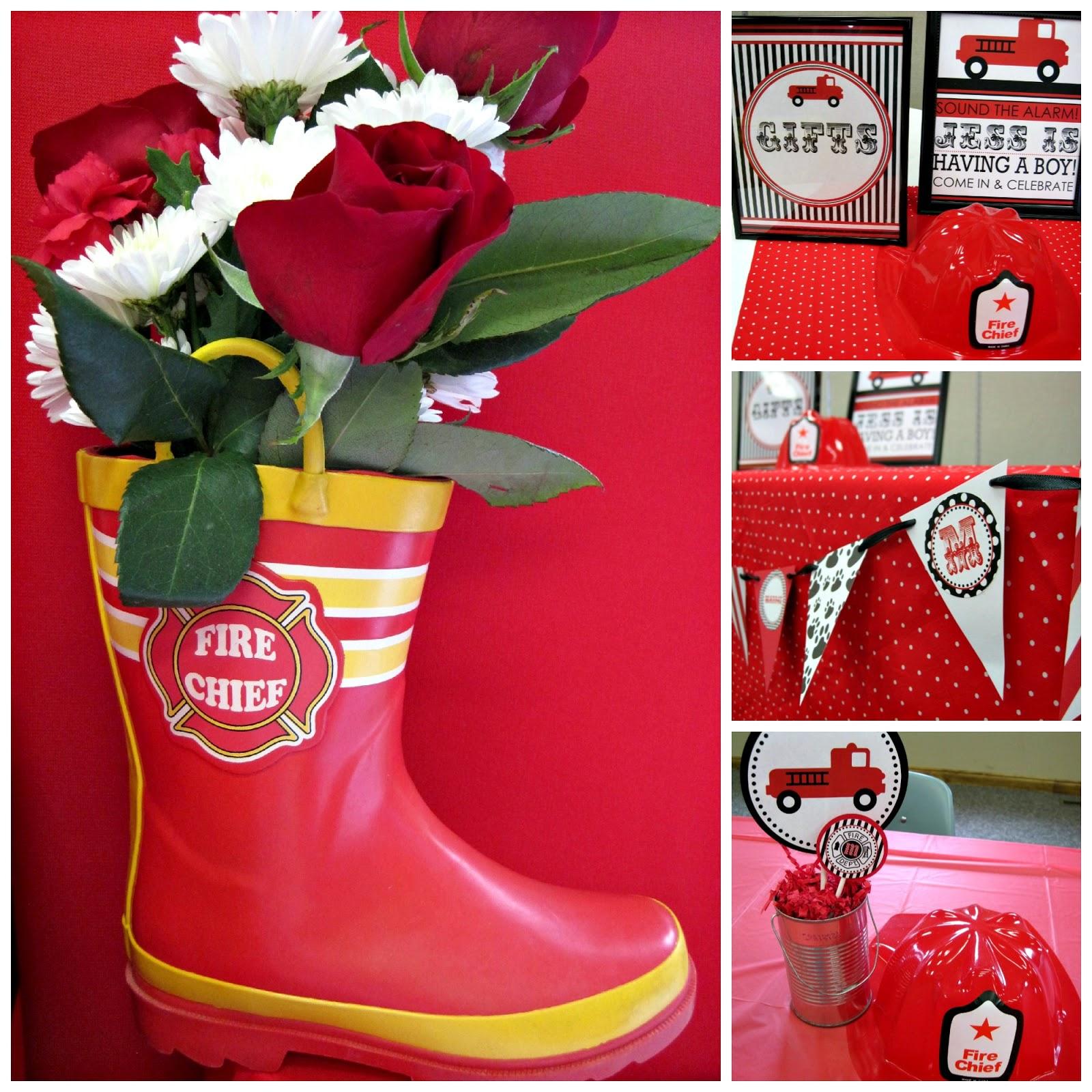 Nbrynn fireman baby shower giveaway