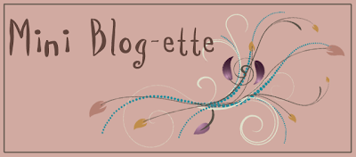 Mini Blog-ette