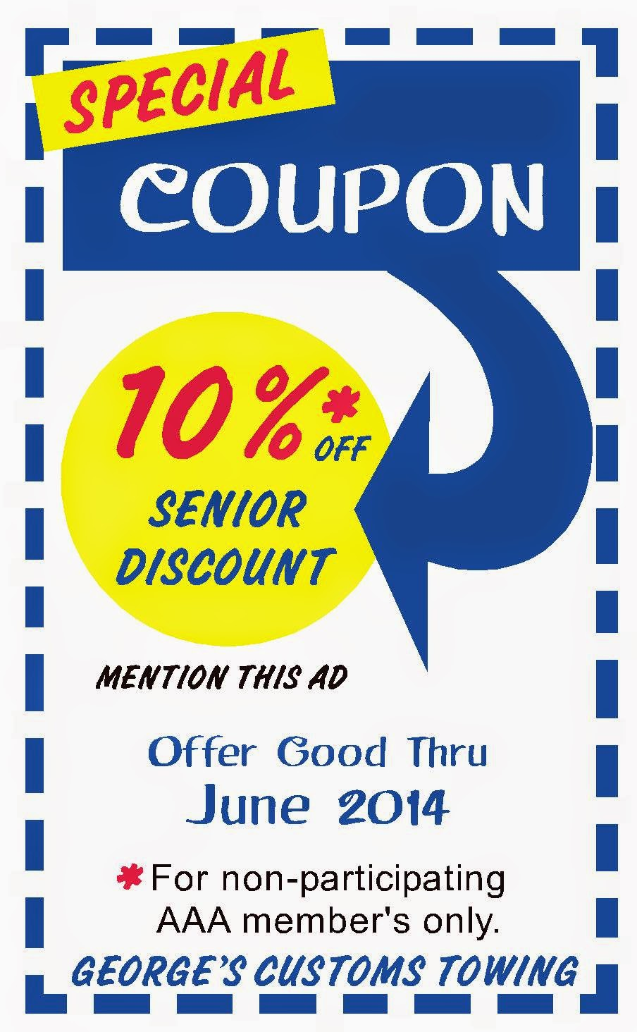 June 2014 Senior Discount