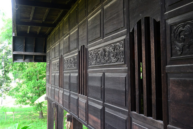 Struktur Jendela Rumah Adat Mandar Kab. Polman