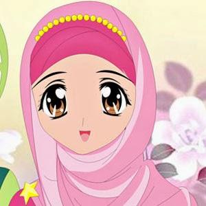 Gambar Kartun Muslimah Cantik - IslamWiki