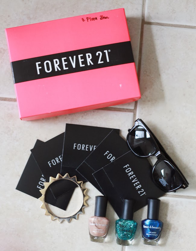 Forever 21, 21 days of layers, Instagram challenge, fashion blogger, blogger competition, Forever 21 nail polish