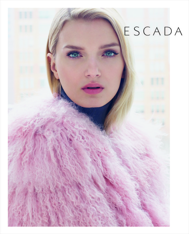 Escada Fall/Winter 2015 Campaign featuring Lily Donaldson