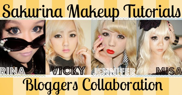 sakurina gyaru makeup tutorial