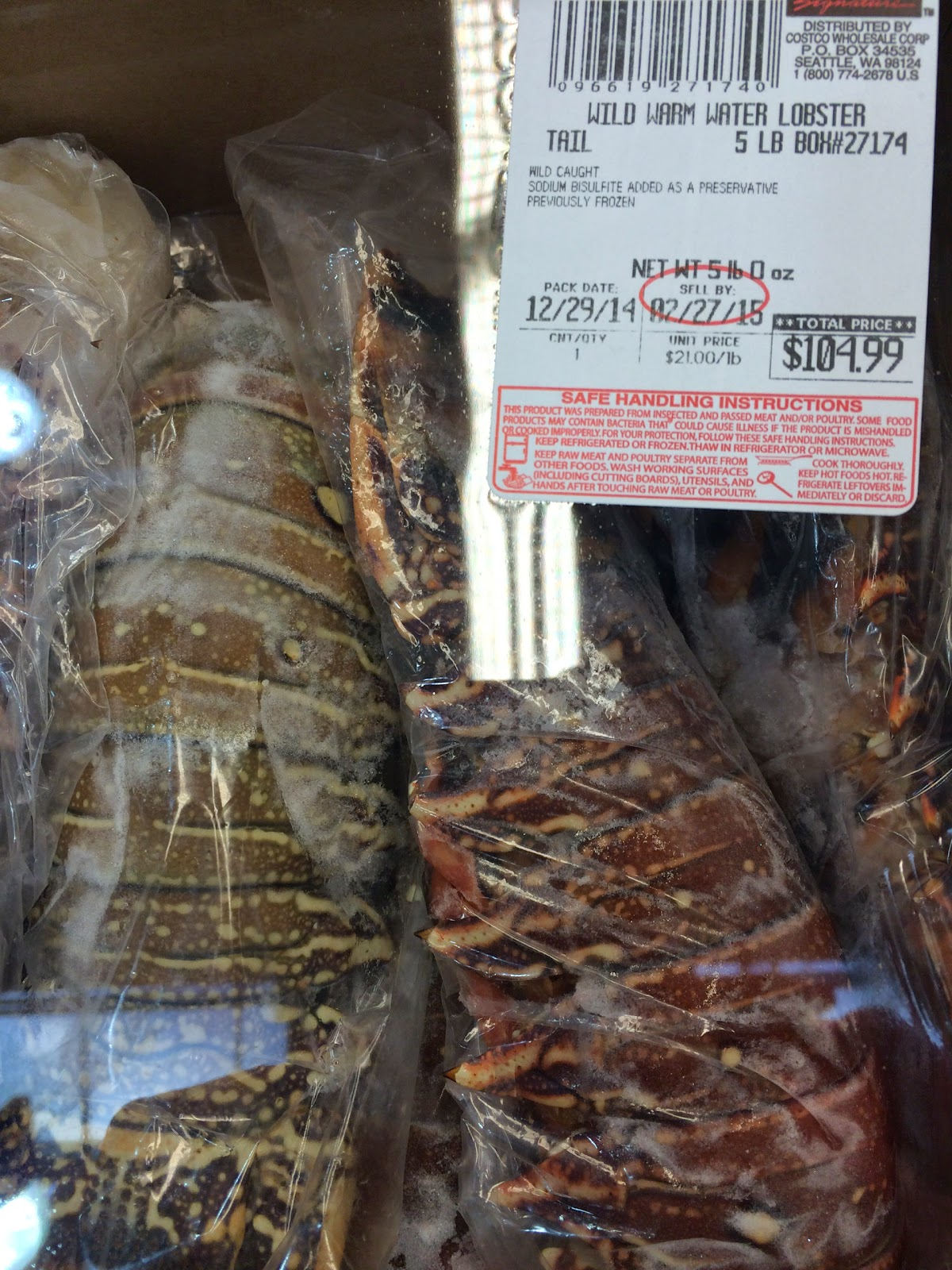 lobster tails costco