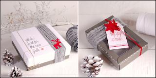 decoración caja bombones caja transparente lanas self packaging