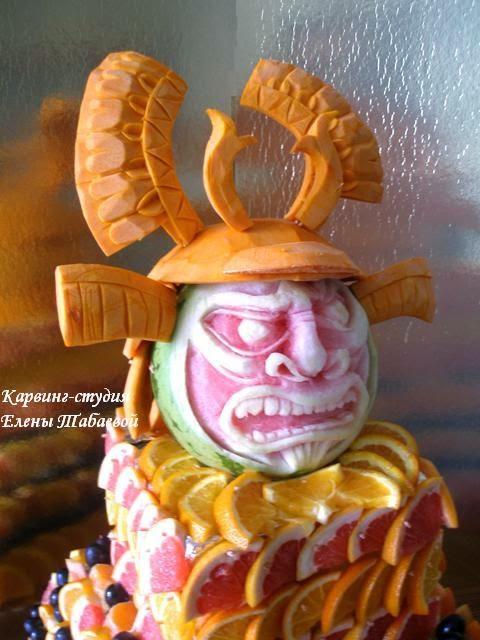 фруктовые карвинг-композиции в южно-сахалинске