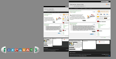 design master blogger template