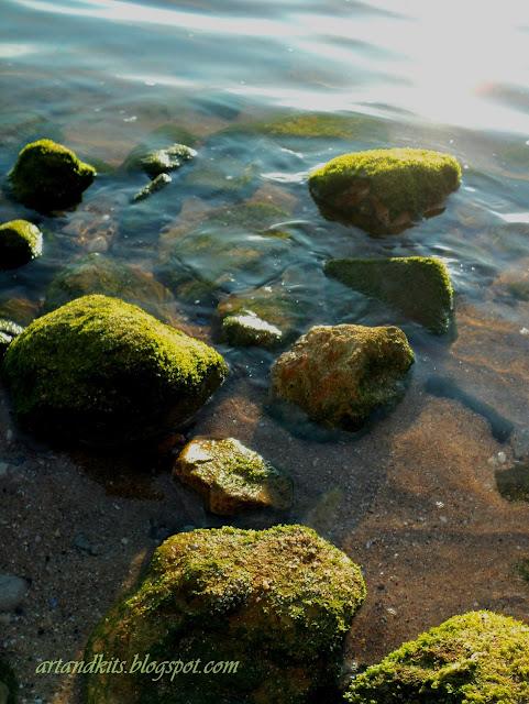 Entre cada onda que vai... e cada onda que vem... o mar ensina-nos, que o mar começa, onde o mar acaba... Cada final... pressupõe um outro começo... / Between each wave that goes... and every wave that comes... the sea, tells us that the sea begins, where the sea ends... Each end... means another beginning...