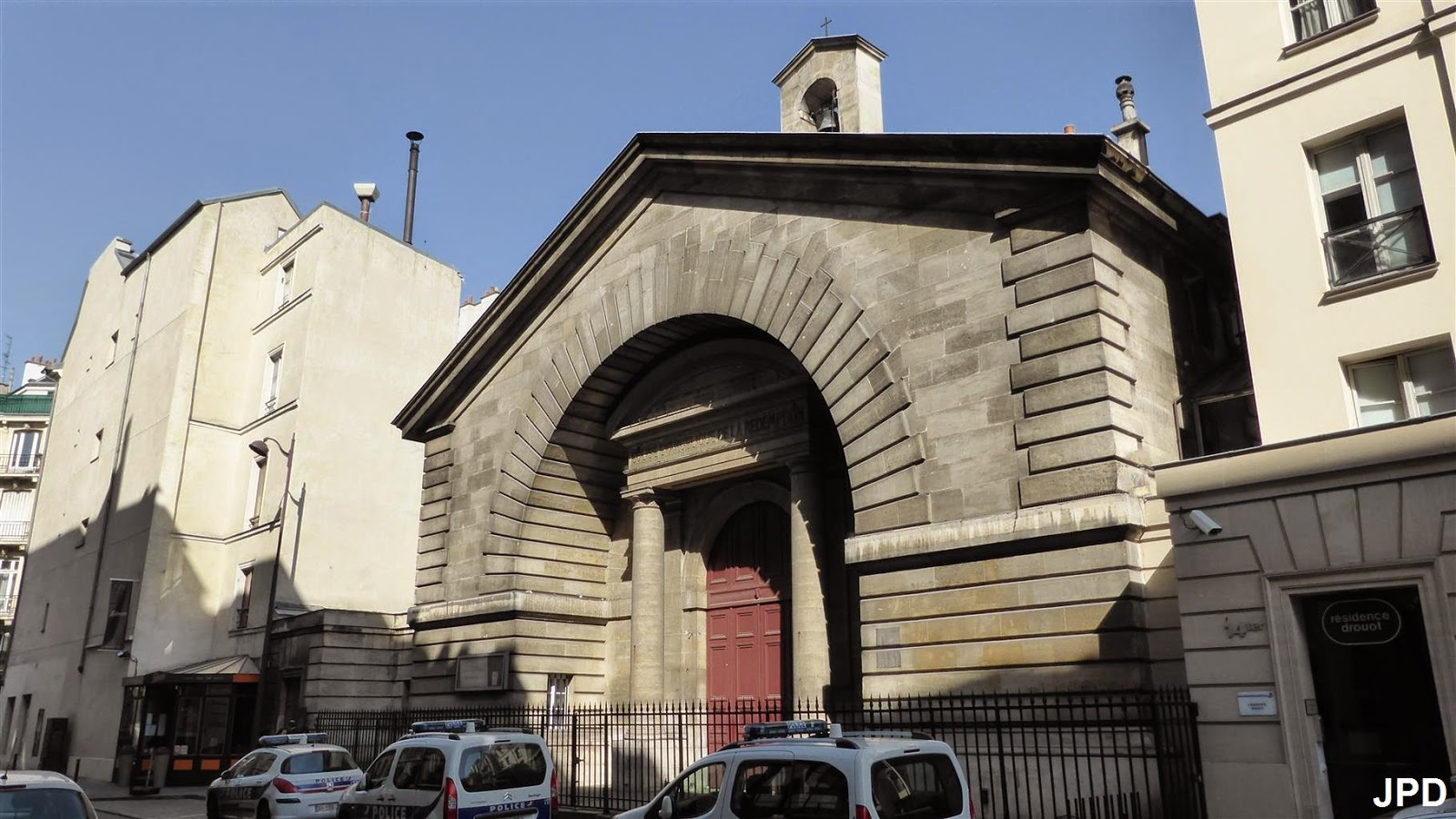 Paris bise art eglise de la r demption ancienne halle - Halle d entree ...