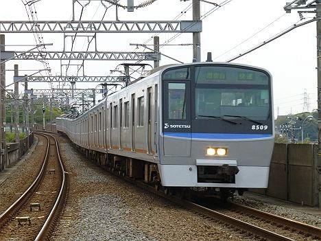 快速 湘南台行き8000系
