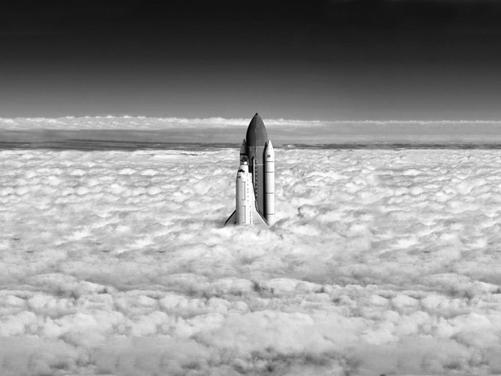 Up, shuttle, up!