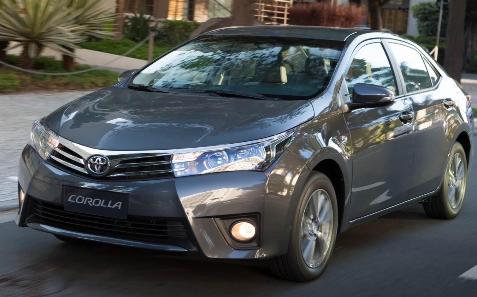 Toyota Corolla 2016 - 8º carro mais vendido em junho