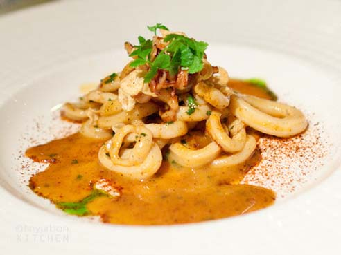 your cooking pleasure: Seared squid
