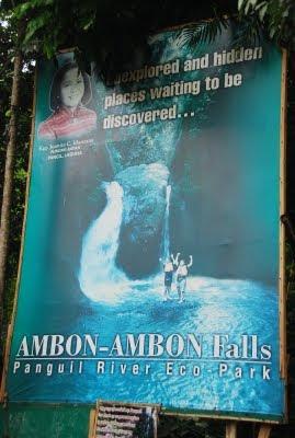 ambon-ambon falls pangil laguna