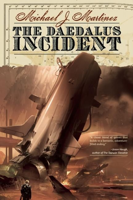 Guest Blog by Michael J. Martinez, author of The Daedalus Incident - Voices of the Past - August 15, 2013
