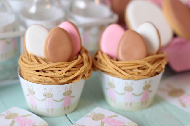 Cupcakes de Pascua, Easter cupcakes