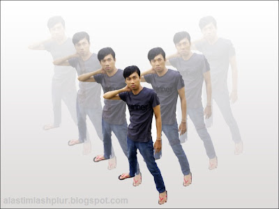 Cara Membuat Gambar Seribu Bayangan Dengan Photoshop
