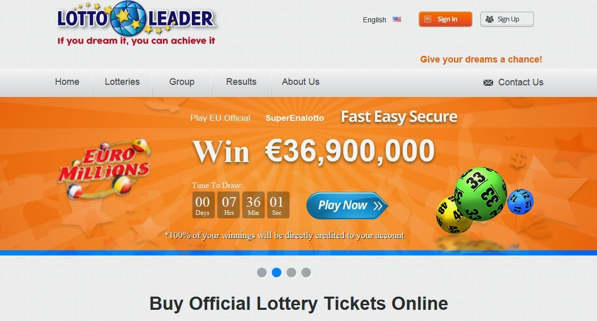 Online Lottery Syndicate - You Got To Be In It To Win It: Lotto ...