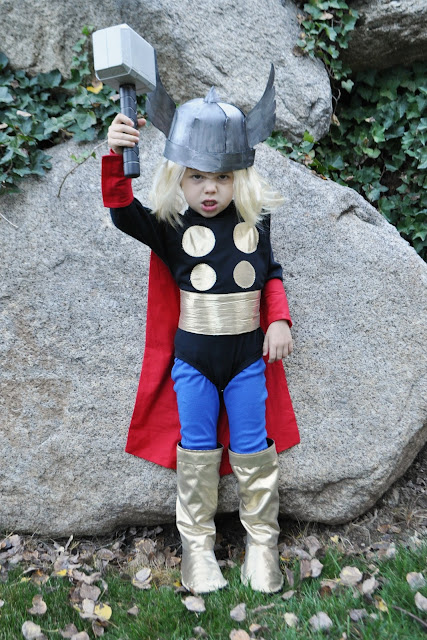 Thor Costume from I am Momma Hear Me Roar