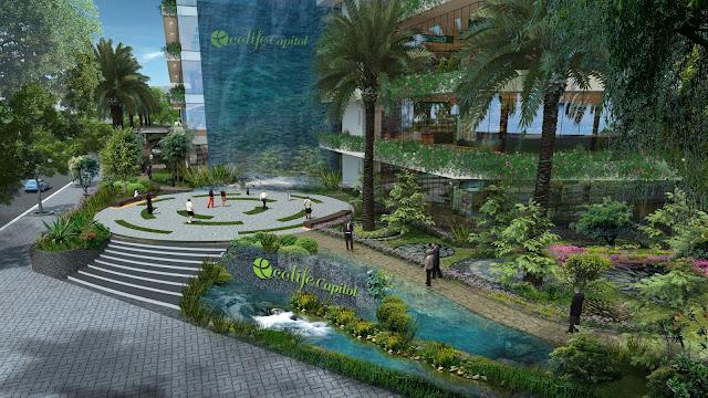 Ecolife Capitol trên ngọn đồi Eco Hill