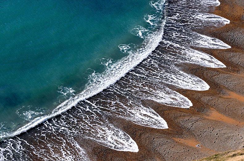 Las cúspides de playas
