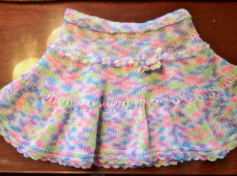 Twins Mom Blog: Girl Summer Skirt Knitting Patterns