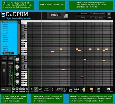 Download Drum Sequencer Software  For PC/Laptop