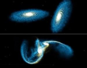 Tabrakan Antar Galaksi