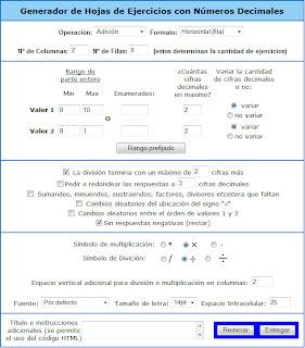 Matemáticas 1º ESO: Generador de Ejercicios MAMUT MATEMÁTICAS