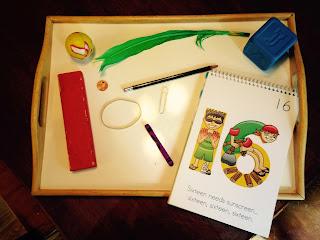 number 16 preschool sink or float activity