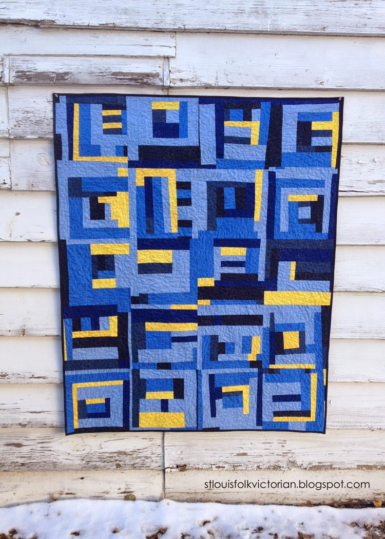 Something Blue Quilt Kristy Daum