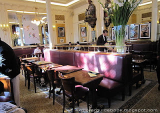 Les Deux Magots Cafe Paris Interior