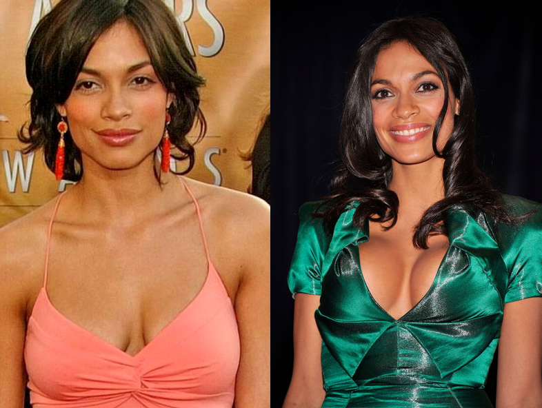 Rosario dawson fake boobs