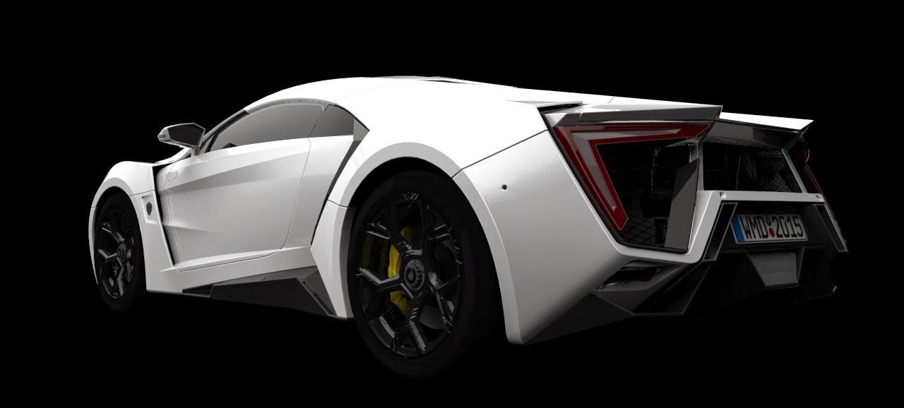 GTA San Andreas WMotors Lykan Hypersport 2013 Mod