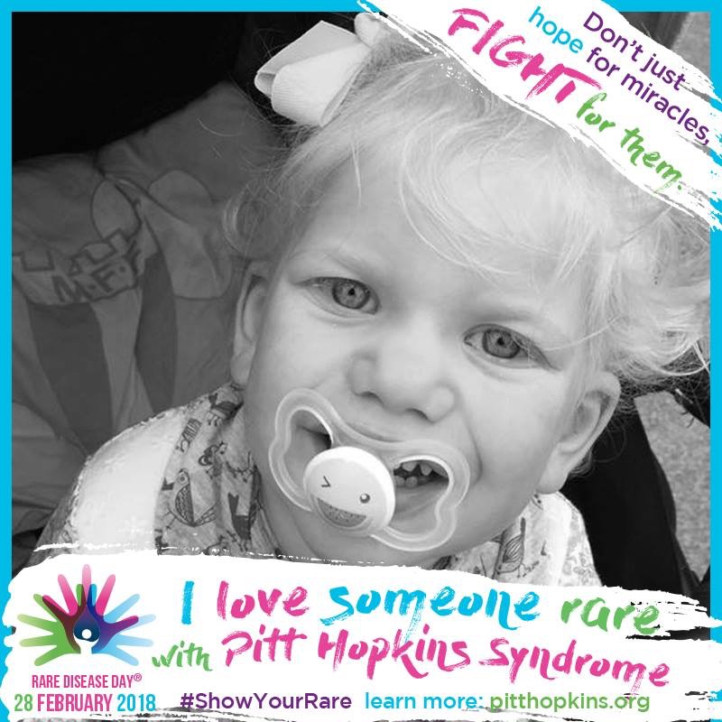 I love someone rare with Pitt-Hopkins syndrome