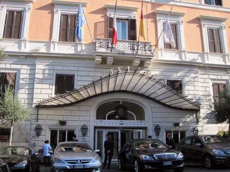 Hotel eden rome italy luxury lifestyle design architecture blog by ligia emilia fiedler - Hotel eden en roma ...