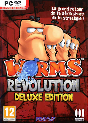 Worms Revolution PC Cover