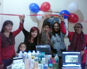 Inaugurando un negocio en Bogota Abril 2011