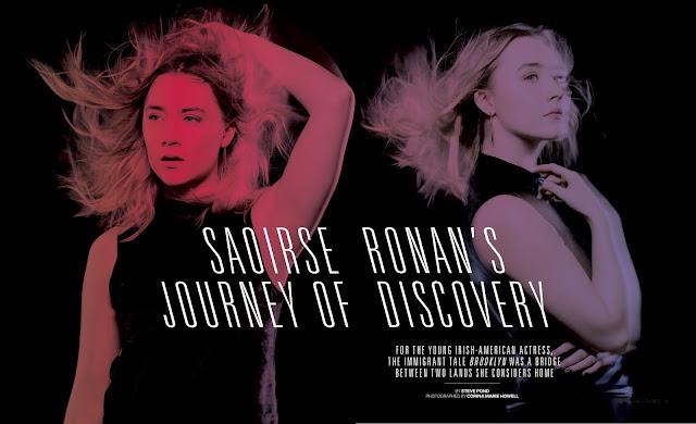 Actress, Singer, @ Saoirse Ronan - The Warp Magazine