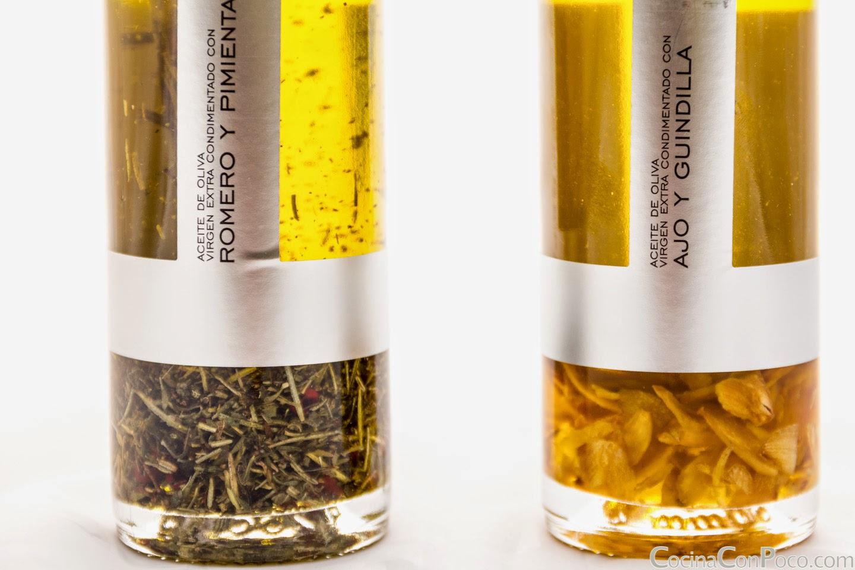 La Chinata - Aceites de oliva virgen extra condimentados - con sabores