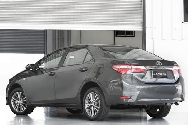 Corolla 2015 Ficha Técnica