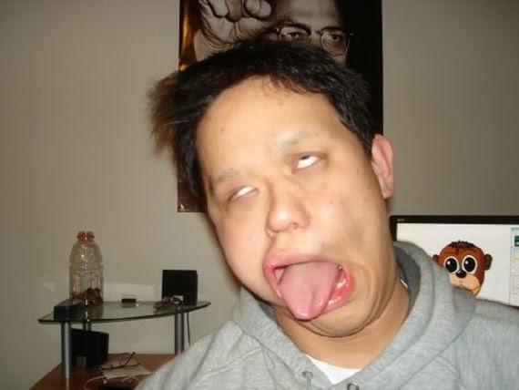 foto ekspresi wajah lucu