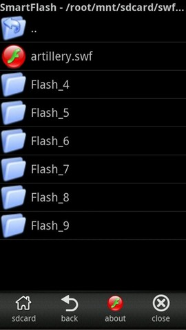 Smart Flash Player android app