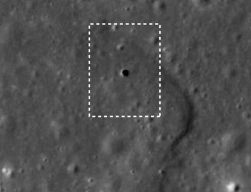 Túneles en la Luna