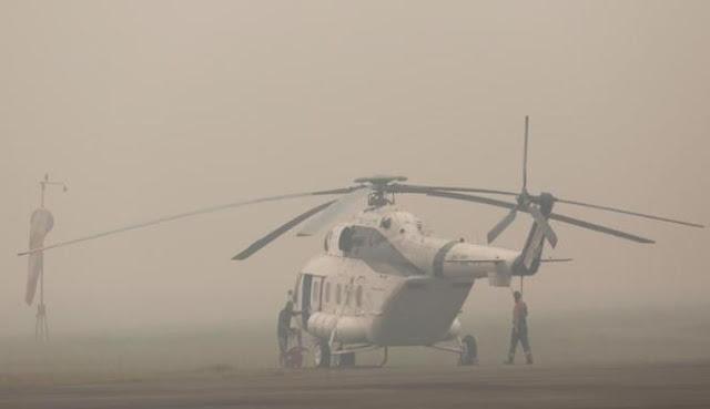Tangani Kabut Asap, Indonesia Butuh Pesawat Pembom Air Besar