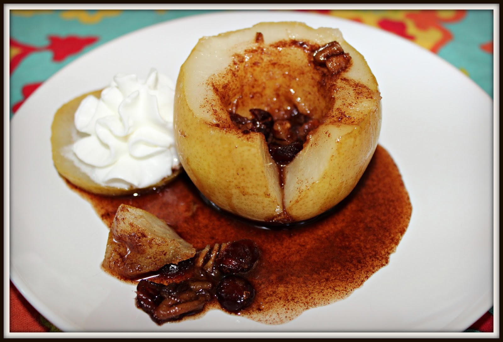 ... , Poached pears, steamed cinnamon honey pears, delicious pear recipe