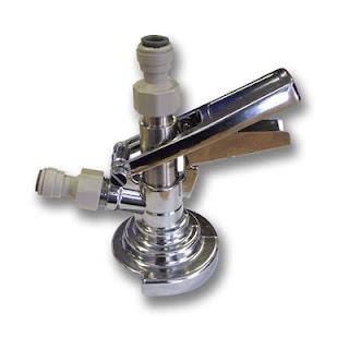 Guinness keg connector